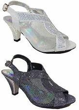 Women Evening Dress Shoes Rhinestones High Heels Platform Wedding Pumps Kinmi03