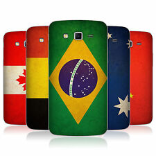 HEAD CASE VINTAGE FLAGS 1 BATTERY BACK COVER FOR SAMSUNG GALAXY GRAND 2 G7105