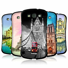 HEAD CASE DESIGNS BEST OF PLACES SET 3 TPU CASE FOR SAMSUNG GALAXY S3 III I9300