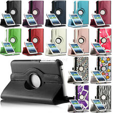 360 Rotating Leather Stand Case Cover For Samsung Galaxy Tab 3 7.0 7 inch Tablet