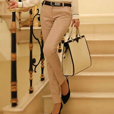 Women Excellent Quality Elegant Fashion Pencil Pants, Trousers With Belt MY