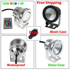 Bombillas 10W RGB LED Flood Light Lamp 800-900LM IP65 Underwater Pool Spotlight