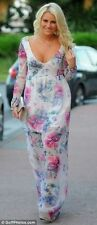 ZARA CELEBRITY FLORAL SUMMER MAXI DRESS SIZE XS_S_M_L