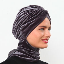 US Seller ! NEW Fancy Bonnet Cancer Chemo Hijab Turban Cap Beanie Winter Velvet