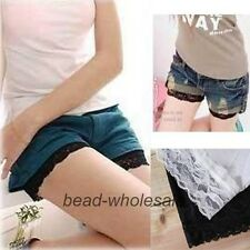 New Hot Fashion Sexy Women's Safety Lace Shorts Leggings Render Pants