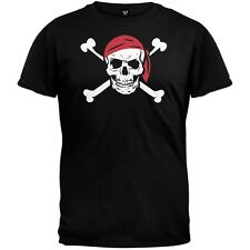 Old Glory - Jolly Roger Pirate Costume Men's T-Shirt - Black