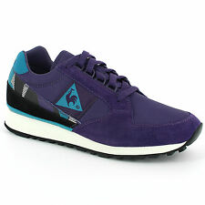 LE COQ SPORTIF ECLAT 90 GRAPHIC RETRO SHOES TRAINERS RUNNING SNEAKERS PURPLE NEW