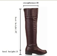 Attack on Titan Cosplay Over the Knee Boots Military Boots