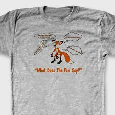 What Does The Fox Say Funny You Tube YLVIS T-shirt Norwegian Tee Shirt