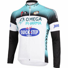 Vermarc Omega Pharma Quickstep Long Sleeved Thermal Cycling Jersey 2013