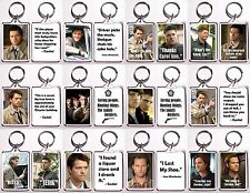 Supernatural Quote Keychains - Many Designs To Choose From - Dean, Sam & Castiel