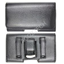 PREMIUM Leather Belt Clip Case Pouch for Cell Phones fits with Otterbox Commuter