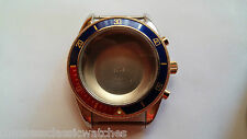 To Fit Valjoux - 7750 Complete Case S/S with Screw in Crown, w/rotating Bezel