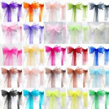 """7""""x108""""Satin Sash Chair Bow Wedding Party Banquet Decorations NEW"""