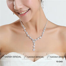 Hot Sale Cheap In Stock Jewelry Sets Women Wedding Prom Necklaces & Earring Sets