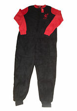 LADIES ONESIE PYJAMAS OFFICIAL LIVERPOOL FLEECE LONG SIZES 12-14 & 20-22