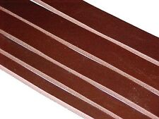 "One 9-11oz BROWN LATIGO LEATHER Strip for Belts Straps 1/4""-3"" wide 12-108"" long"