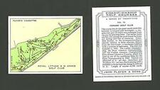Type Cards: Players CHAMPIONSHIP GOLF COURSES EX Cond.