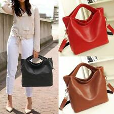 New Womens Handbag PU Leather Ladies Classic Celebrity Tote Hobo Shoulder Bags