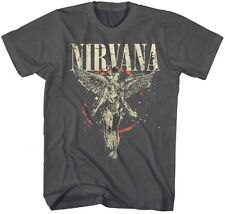 AUTHENTIC NIRVANA GALAXY IN UTERO GUITAR ROCK MUSIC BAND TEE SHIRT S M L XL 2XL