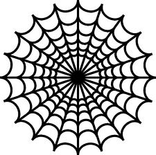 "* Spider web black widow 8"" x 8"" decal vinyl sticker car truck motorcycle"