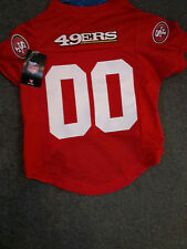 HUNTER SAN FRANCISCO 49ERS PET DOG FOOTBALL OFFICIALLY LICENSED JERSEY ALL SIZES