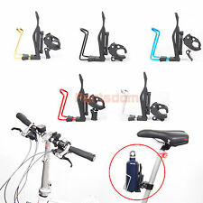 Release Aluminum Bicycle Cycling Bike Handlebar Mount Water Bottle Cage Holder