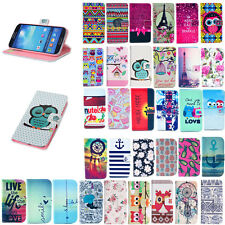 For Samsung Galaxy Trend Plus S7580 S7582 Luxury Flip Wallet Leather Case Cover