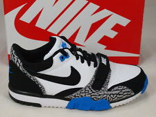 Nike Air Trainer 1 Low ST Elephant Print  White Black Velcro NSW 637995-102