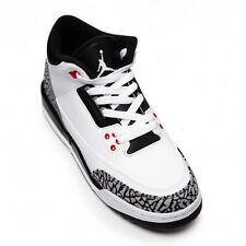 Air Jordan 3 III Retro Infrared BG (GS) Kids 398614-123 cement 3 iii 4 iv blue