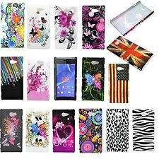 Hard Back Shell Mobile Phone Snap On Cover  Case Accessories For Sony Xperia M2