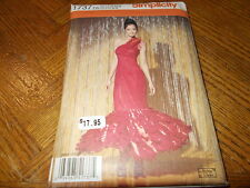 Simplicity Costume Pattern 1737 Ms Flamenco Dress/ Hunger Games- Girl on Fire