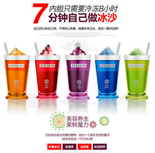 New Zoku Slush & Shake Maker Multicolorful Slushy Milkshake Smoothie Maker Cup