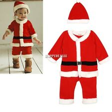 NEW KIDS RETRO XMAS CHRISTMAS SANTA CLAUS COSTUME WINTER JUMPER SWEATER HD23L