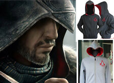 Assassin's Creed 3 Conner Kenway Coat Jacket Hoodie Costume Youth/Adult Cos AA++