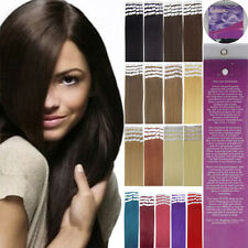 Women Hair Extensions 100% Real Remy Human Hair Super Tape In Hair 20pcs 16-24''