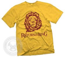 The Return of the King Lebron James Cleveland Akron Ohio Mens Gildan T-Shirt NWT