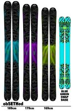 BRAND NEW! 2012 K2 OBSETHED FREERIDE SKIS w/MARKER GRIFFON SCHIZO OVER 55%!