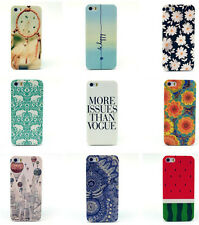 New Paint Design Back Case Cover Skin for Apple iPhone 4/4S/5/5S 6 & 6 Plus