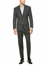 NWT size 44R - JOHN VARVATOS STAR USA Bedford Grey Check 100% Wool Suit was $695