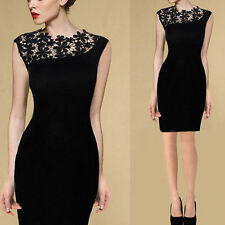 Sexy Lady Lace Stretch Clubwear Cocktail Evening Party Bodycon Dress Gorgeous