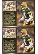 Brett Favre #4 3-Time AP NFL MVP SB XXXI Champion Green Bay Packers Photo Plaque