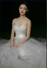white/ivory new wedding dress in stock size 6----16,good price and quality!