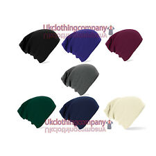 Unisex Beechfield Slouch Beanie - One Size - 7 Great Colours