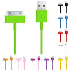 USB Sync Data for Apple iPhone 4S 3GS iPod Mini Charger 3ft 6ft 10ft  Cable Cord