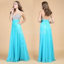 2014 Long Formal Prom Party Bridesmaid Homecoming Evening Ball Gown Dress #Cu3