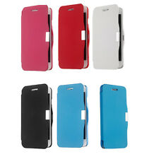 Fashion Magnetic Flip Hard Wallet Case Protective PU Leather Cover for iPhone 6