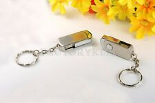 8/16/32/64GB Metal Roating USB Flash Memory Drive Stick Pen Thumb U Disk STD