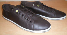 MENS BROWN CASUAL SLIM SOLE SHOES LACE UP PUMPS UK SIZE 9.5 OR 11  NEW