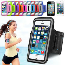 Sports Gym Jogging Running Armband Arm Holder Case Cover For iPhone 4 4S 5 5S 5C
